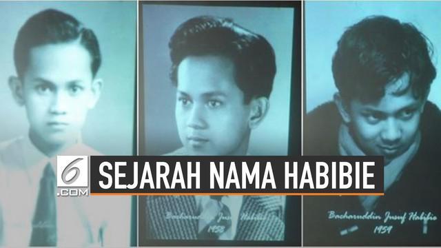 Mendiang BJ Habibie akrab disapa Rudy oleh keluarga dan teman-temannya. Nama Habibie mulai jadi akrab karena guru mengajinya.