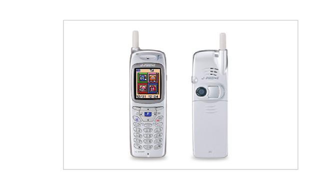 Sharp J-SH04, ponsel yang juga disebut-sebut sebagai ponsel pertama dengan kamera (Foto: Sharp)