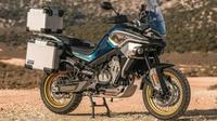 MT800 motor adventure CFMoto hasil kolaborasi dengan KTM. (Cycle World)