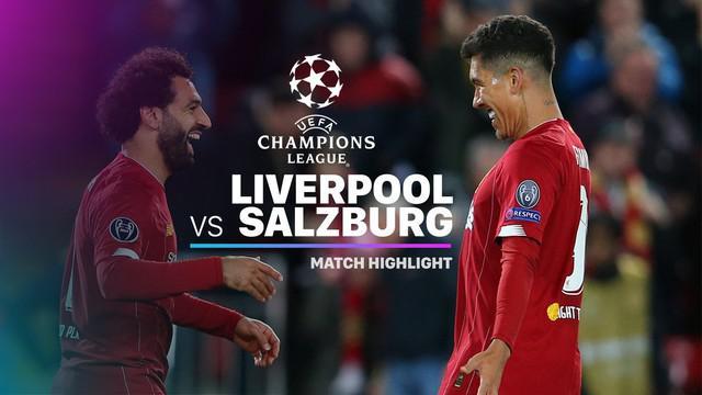 Berita video highlights Grup E Liga Champions 2019-2020 antara Liverpool melawan Red Bull Salzburg yang berakhir dengan skor 4-3, Rabu (2/10/2019).