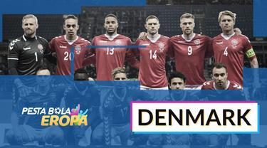 Berita motion grafis Profil Tim Denmark di Piala Eropa 2020