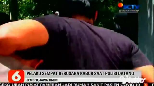 Tim Unit Reserse Kriminal Polsek Jenggawah, Jember, Jawa Timur menangkap dua pelaku pemerkosaan di rumah dan seorang  pelaku lainnya ditangkap saat sedang bekerja di sebuah pabrik.