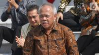 Menteri Pekerjaan Umum dan Perumahan Rakyat (PUPR) Basuki Hadimuljono (Liputan6.com/Angga Yuniar)