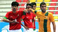 Timnas futsal saat melawan Australia di perempat final Piala AFF Futsal 2014 (istimewa)