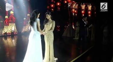 Pemenang Miss Grand Internasional 2018 jatuh pingsan saat diumumkan menjadi pemenang.