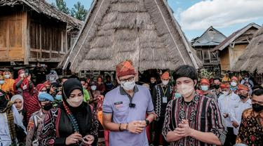 Promosikan Desa Wisata di NTB, Menparekraf Gandeng Atta Halilintar dan Aurel Hermansyah