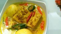 Resep sayur tahu telur (dok.YouTube/Resep Wina)
