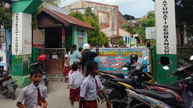 Aktifitas di SD Negeri Perumnas I Waena, Kota Jayapura
