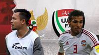 Indonesia vs Uni Emirat Arab: Arif Satria vs Walid Abbas. (Bola.com/Dody Iryawan)