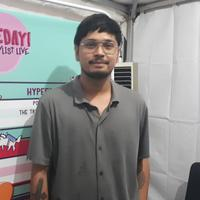 Petra Sihombing di AXIS Hypeday Playlist Live, di Livespace, SCBD, Jakarta Selatan