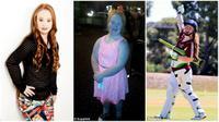 Madeline Stuart, gadis penderita down syndrome yang ingin menjadi model. (Daily Mail)