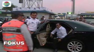 Menteri Perhubungan Budi Karya Sumadi datangi Jasa Marga untuk mengetahui kesiapan ruas Tol Trans-Jawa.