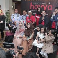 Preskon film Hayya The Power of Love 2 (Istimewa)