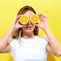 Ilustrasi buah jeruk ampuh atasi stres (iStockphoto)
