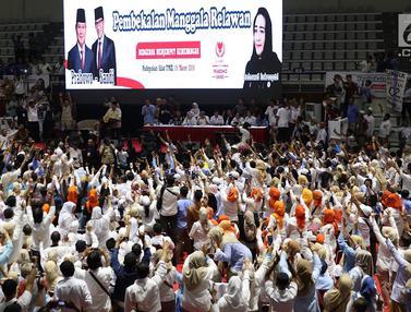 Prabowo Hadiri Pembekalan Relawan