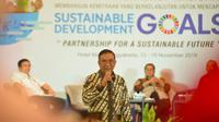 Seminar PTTEP Indonesia dan CECT MM-Sustainability Universitas Trisakti.