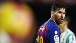1. Lionel Messi (Barcelona) - 14 Gol (1 Penalti). (AP/Manu Fernandez)