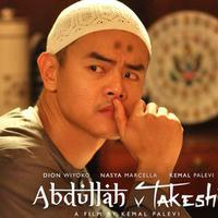 Dion Wiyoko dalam salah satu adegan film Abdullah v Takeshi