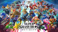 Nintendo konfirmasi kehadiran Super Smash Bros Ultimate. (Doc: Nintendo)