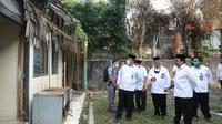 Wakil Menteri Agama Zainut Tauhid meninjau KUA di Jakarta. (Istimewa)