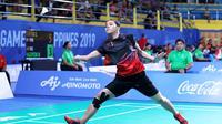 Gregoria Mariska Tunjung di SEA Games 2019, Kamis (5/12/2019). (PBSI)