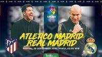 La Liga - Atletico Madrid Vs Real Madrid (Bola.com/Adreanus Titus)