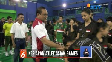 Kedatangannya kali ini untuk memberikan motivasi dan dukungan langsung kepada para atlet dan pelatih sepak takraw yang akan berlaga di Asian Games 2018.