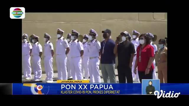 Perbarui informasi Anda bersama Fokus edisi (06/10) dengan beberapa topik pilihan sebagai berikut, Razia Parkir Liar di Senayan, Kasus Covid-19 di PON XX Papua, Berburu Ikan di Bendung Rentang.