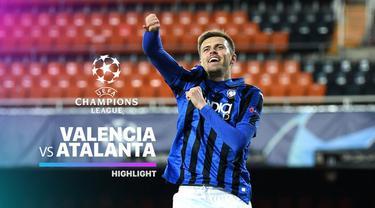 Berita video highlights leg II babak 16 Besar Liga Champions 2019-2020, Valencia vs Atalanta yang berakhir dengan skor 3-4 di Estadio de Mestalla, Selasa (10/3/2020).