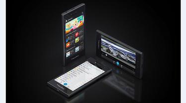 BlackBerry Leap Meriahkan MWC 2015