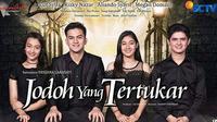 Sinetron terbaru SCTV berjudul Jodoh Yang Tertukar akan segera ditayangkan mulai 1 September 2017 pukul 18.00 WIB. Sinetron ini dibintangi oleh Cut Syifa, Rizky Nazar, Aliando Syarief, Megan Domani dan masih banyak lagi. (Instagram/jodohygtertukar)