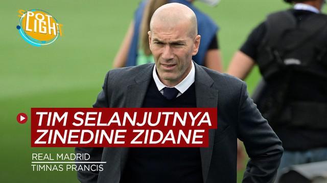 Berita video spotlight kali ini membahas tentang klub Zinedine Zidane selanjutnya jika pergi dari Real Madrid.