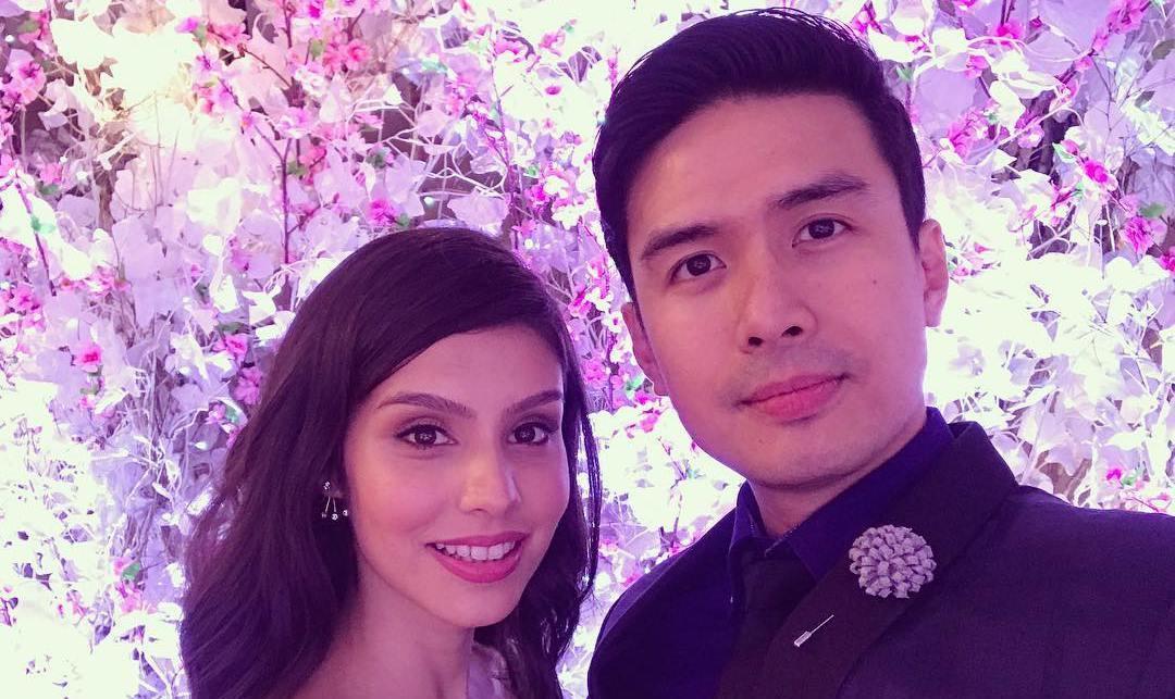 Christian Bautista dan kekasihnya, Kat Ramnani [foto: instagram.com/katramnani]