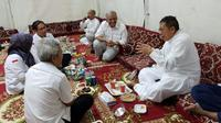 Menteri Agama Lukman Hakim Saifuddin sedang mengenang ketika dirinya dan rombongan Amirul Hajj dihadang askar Saudi. (www.kemenag.go.id)