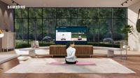Samsung Indonesia merilis jajaran terbaru smart tv permiumnya, Neo QLED 8K yang diklaim mendukung berbagai aktivitas rumahan. (Dok: Samsung)
