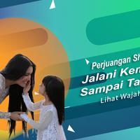 Cerita Denada tentang perjuangan Shakira Aurum jalani kemoterapi. (Foto: Instagram/denadaindonesia Desain: Nurman Abdul Hakim/Bintang.com)