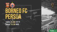 Piala Indonesia - Pusamania Borneo FC Vs Persija Jakarta (Bola.com/Adreanus Titus)
