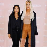 Isu body positivity terus digencarkan Khloe Kardashian dengan hadirnya lini pakaian secara offline (Foto: instagram/goodamerican)