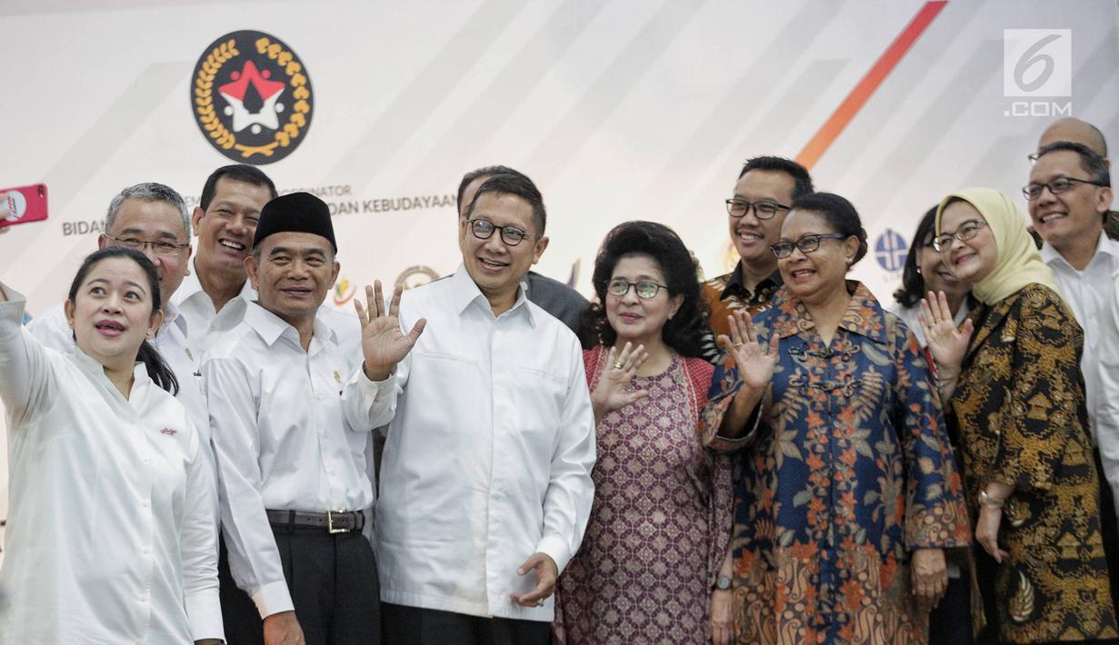 Foto Menko Puan Pimpin Rapat Pencapaian Di Bidang Pmk News