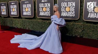 Lady Gaga menjadi salah satu selebritas yang disorot dalam Golden Globes 2019. Ia dijagokan untuk menyabet kategori aktris terbaik film drama.