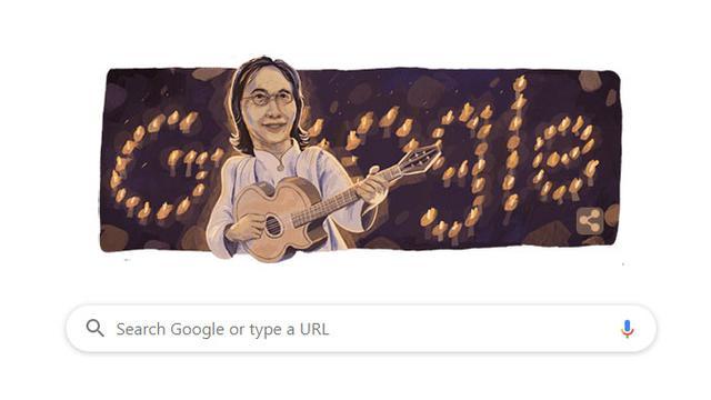 Penyanyi Legendaris Chrisye Jadi Google Doodle Hari Ini