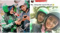 Momen Saat Ketemu Driver Ojek Online Cantik Ini Malah Bikin Betah (sumber:Instagram/dramaojekonline)