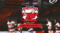 Liga 1 - Ilustrasi Logo Madura United BRI Liga 1 (Bola.com/Adreanus Titus)