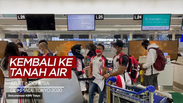 Berita Video, Tujuh Atlet Indonesia Kembali ke Tanah Air pada Kamis (29/7/2021)