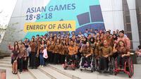 137 atlet yang diangkat menjadi Pegawai Negeri Sipil (PNS) berasal dari sejumlah cabang olah raga dan sudah berprestasi pada ajang bertaraf nasional dan internasional. (dok. Kemenpora)