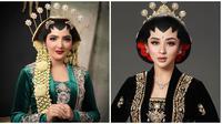 Selebriti tampil bergaya pengantin Jawa (Sumber: Instagram/marginw/fdphotography90)