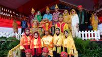 Festival Pranata Adat dan Budaya untuk perdamaian di Kabupaten Parigi Moutong, Provinsi Sulawesi Tengah.