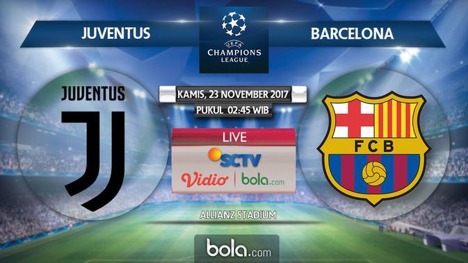 Prediksi Juventus Vs Barcelona Pertemuan Terakhir 2 Legenda Dunia Bola Com