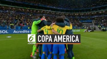Brasil berhasil masuk ke semifinal Copa America 2019 setelah mengalahkan Paraguay melalui adu penalti.