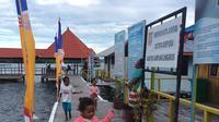 Anak-anak di Kampung Enggros